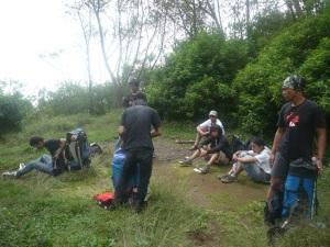 15. Setibanya di camp 4 lempong sampan 2510 Mdpl.